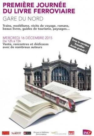 1ere journee du livre ferroviaire