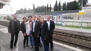 Rencontre à Cros de Cagnes 16 avril 2015