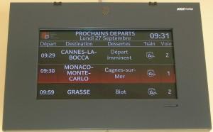 Gare de VILLENEUVE LOUBET 014 bis