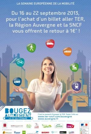 affiche Semaine Mobilité 2013
