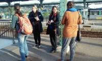 Distribution des horaires en gare de Givors-Ville