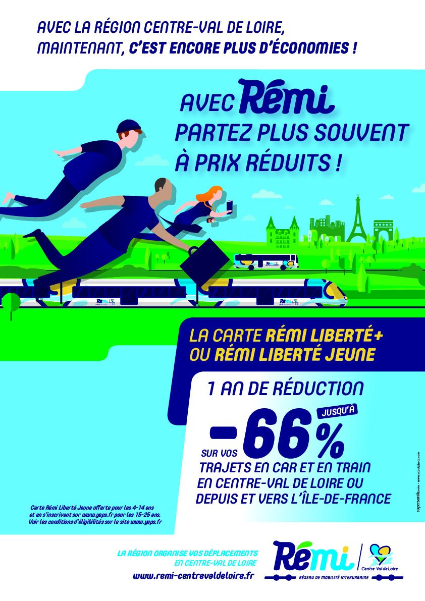 Carte Reduction Bourgogne Liberte.Remi La Nouvelle Gamme Tarifaire De La Region Centre Val